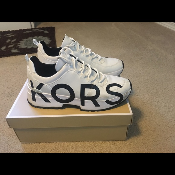 Michael Kors Cosmo Leather Trainers